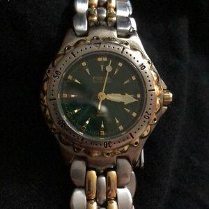 Vintage 1990s Ladies Fossil Watch